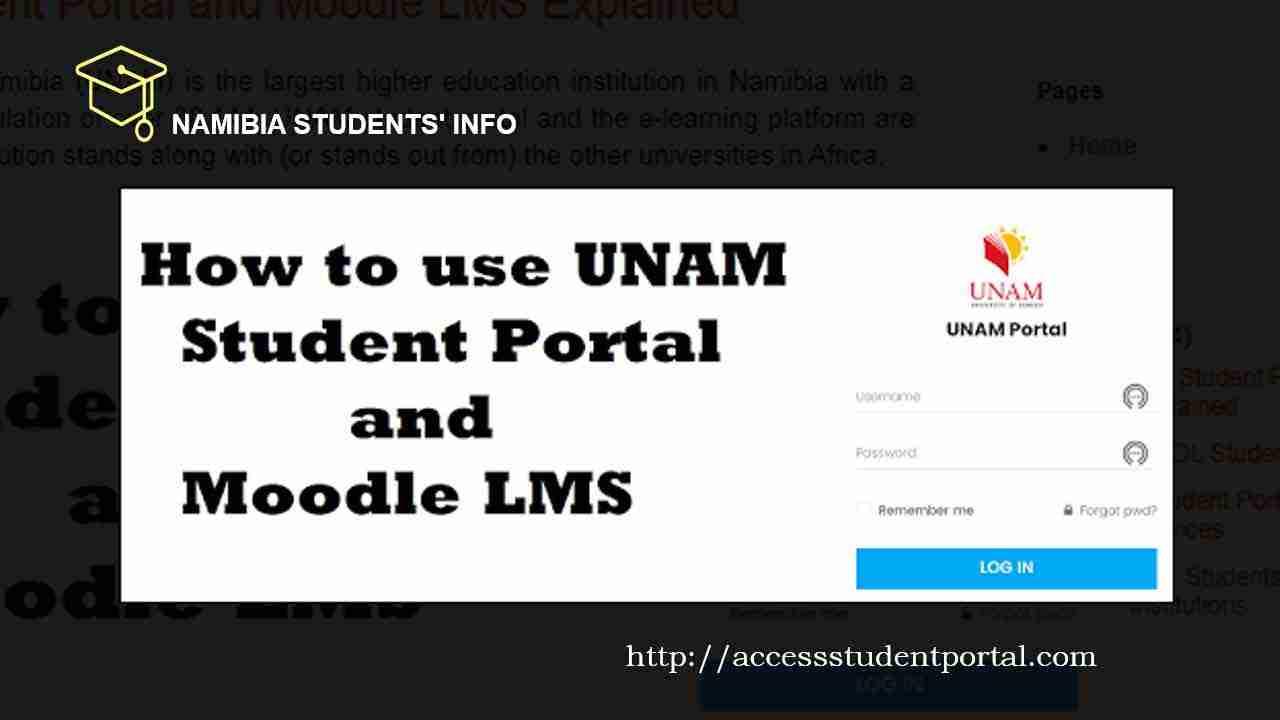 UNAM Student Portal and Moodle LMS